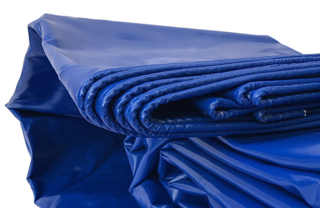 An Image of a blue PVC Tarp